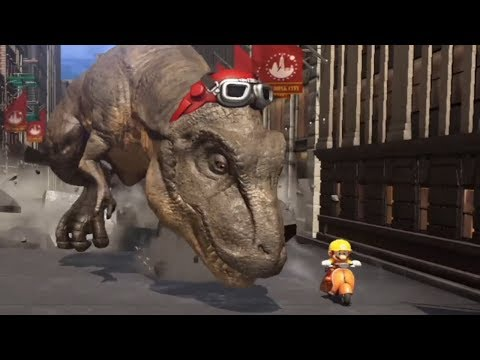 Super Mario Odyssey - Walkthrough Part 8 - Metro Kingdom All Moons & Coins