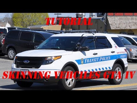 GTA 4/5 Tutorial | How to skin a Vehicle | Tutorial #1