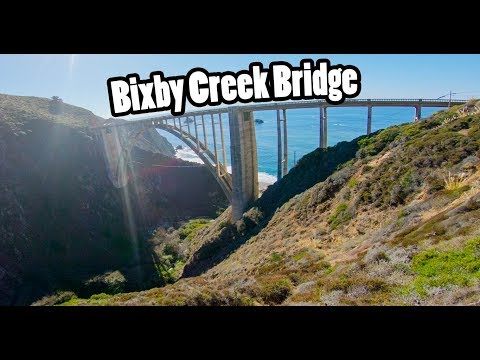 The Beautiful Road to Bixby Creek Bridge