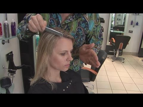How To Find Your Natural Hair Parting