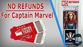 Marvel Denying REFUNDS For Captain Marvel & More Hilarity