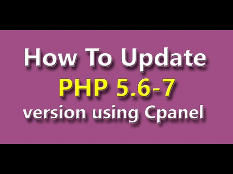 How to Update PHP version using Cpanel। php version 5.6 or greatest । Hostgator Hosting tutorial