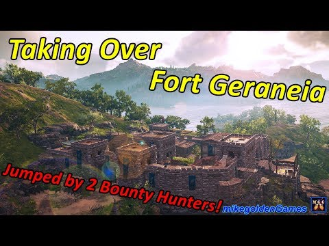 Fort Geraneia - Attacked By Multiple Bounty Hunters | Assassins Creed Odyssey Episode 6