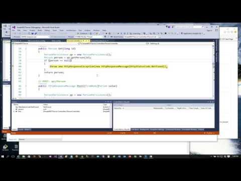 REST Client C# Console Part 2 (GET,POST,PUT,DELETE)