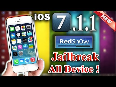 Jailbreak iOS 7.1.1  UNTETHERED ! All Devices - Downgrade to iOS 7.0.6 , iOS 7.0.4 - iPhone 5S 5 4