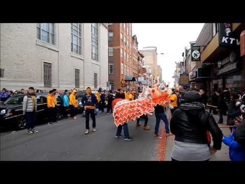 Chinatown Lion Dance 2017 at Philadelphia