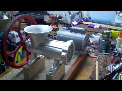 Motorized Meat Grinder - More Power!