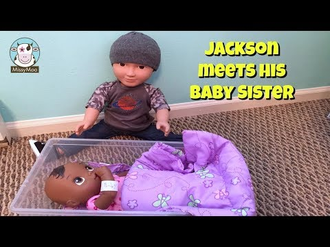 Baby Alive Bella gets adopted by Jackson's family