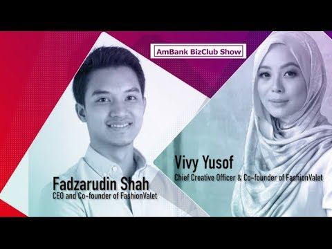 AmBank BizCLUB SHOW with Vivy Yusof and Fadzarudin Shah from FashionValet