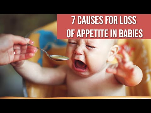7 Causes for Loss of Appetite in Babies