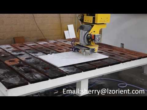CNC multi function natural granite stone cutting and polishing machine