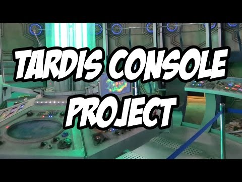 TARDIS Console Project #2 - Preparing to build a Doctor Who TARDIS Console, plans, drawings and why
