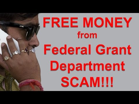 US Federal Grant Department Scam & Scam Telephone Number Update
