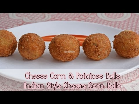 Cheese Corn Potatoes Balls | चीज़ कॉर्न बॉल्स।Indian Style Cheese Corn Balls | Magic of Indian Rasoi