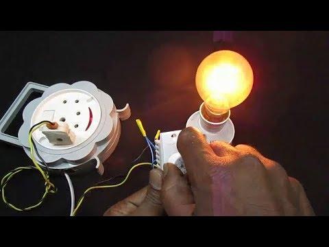 How to Simple Control Bulb Brightness using Fan Regulator - Easy Way