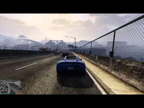 Grand Theft Auto V - Crusing in Coil Voltic, Super - All Electric Car