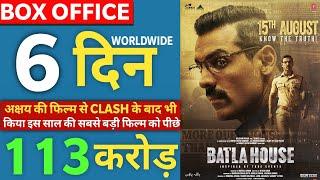 Batla House 6th Day Collection, Batla House Box Office Collection Day 6,John Abraham, Mrunal thakur