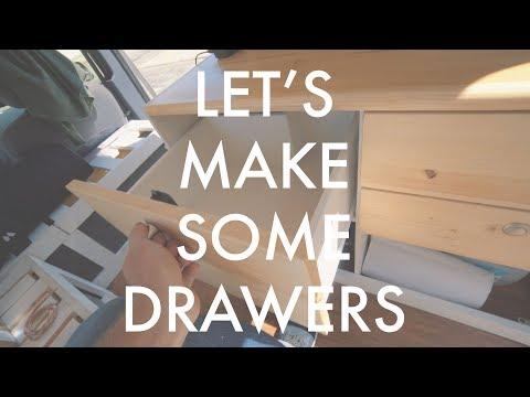 Adding Drawers To My Camper Van!