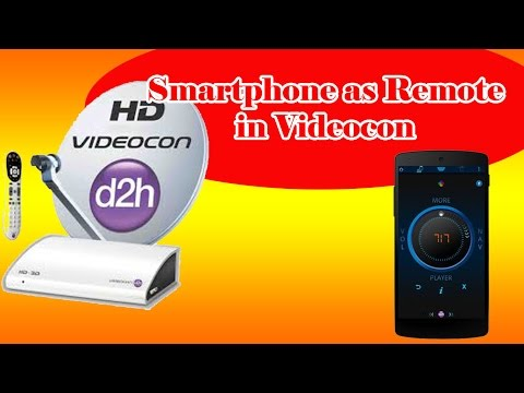 How to connect your Smartphone to Videocon d2h Set Top Box