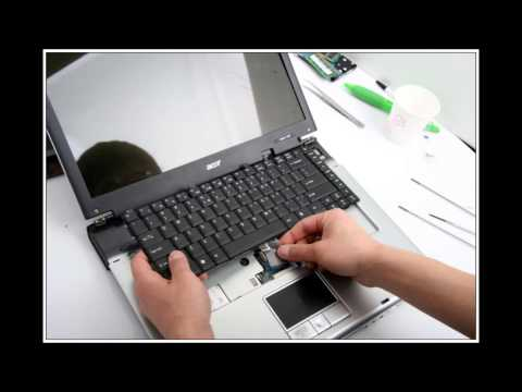 Acer Aspire 1640 노트북 분해(Laptop disassembly)
