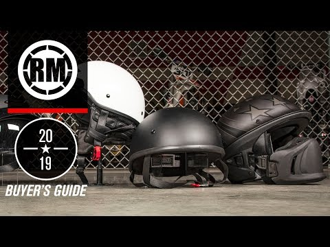 2019 Cruiser Motorcycle Helmet Buyer's Guide