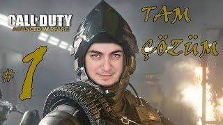 Call of Duty: Advanced Warfare OynuYorum #1 GİRİŞ (1080p)