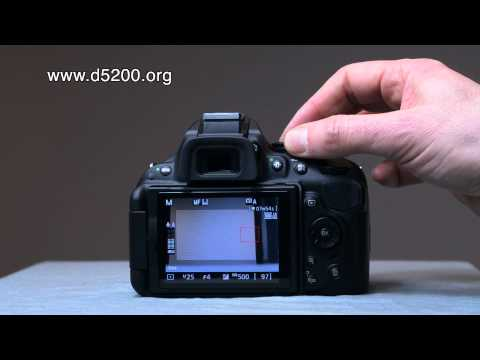 Nikon D5200 Buttons and settings - youtube
