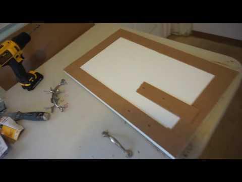 DIY tips: Updating plywood cabinet doors