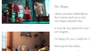 Happy Adoption Day Megan