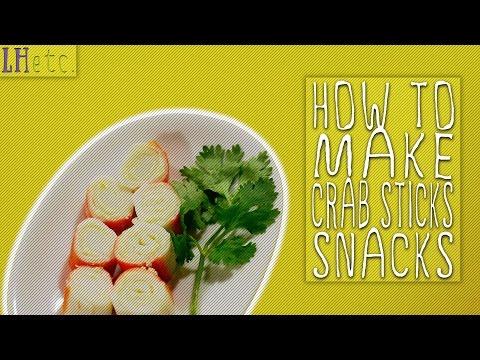 How to Make Crab Sticks Snacks