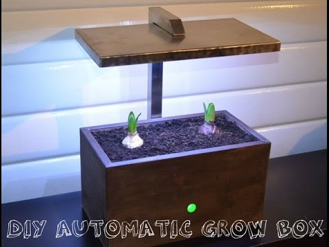 DIY Homemade Arduino Automatic Grow Box