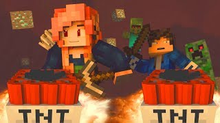 """♫ """"MINES BELOW"""" - MINECRAFT PARODY OF """"ALL WE KNOW"""" BY THE CHAINSMOKERS (ANIMATED MUSIC VIDEO) ♫"""