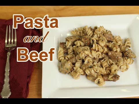 How To Make Pasta and Beef Recipe | Rockin Robin Cooks