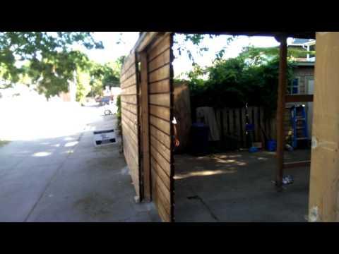 Sliding Garage Door - 6-24-2016