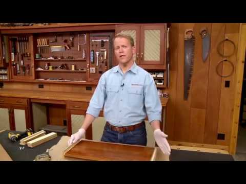 Woodsmith Tips: Finishing Stand Offs
