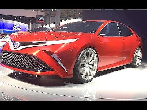 Luxury Sedan Toyota Camry 2018, 2019