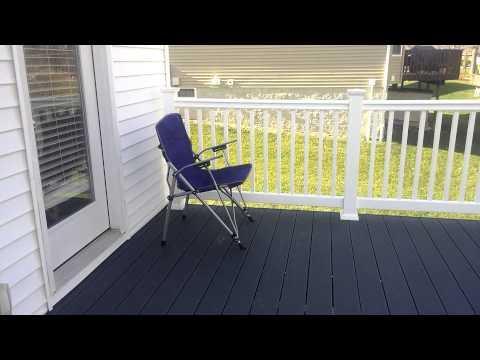 Trex deck w/ Winchester grey decking