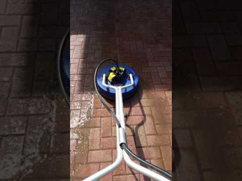 Pressure Cleaning Brick Paver Patio