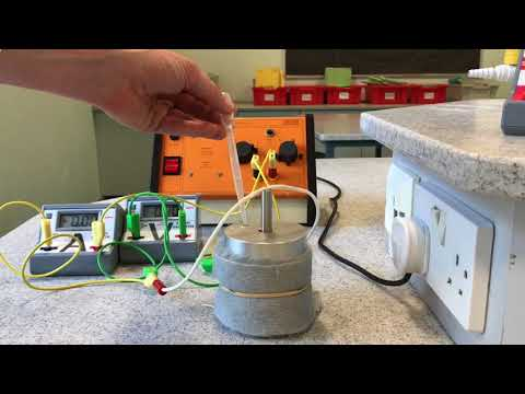 9-1 GCSE Required Practical 1 Specific Heat Capacity