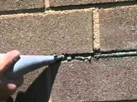 Basalite Concrete Products | How to Repair Mortar Joints in Concrete