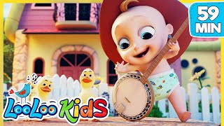 Download Yankee Doodle 🤠 Educational Songs for Children | LooLoo Kids Video