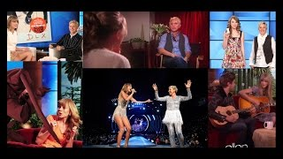 Taylor and Ellen - The most memorable moments (2008-2015)