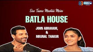 Exclusive Interview | Batla House | John Abraham, Mrunal Thakur & Nikhil Advani
