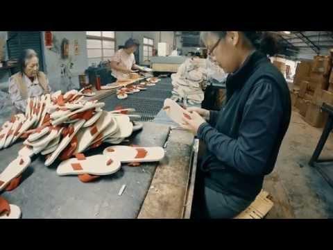 Process of making Slipper