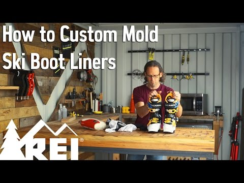 Skiing: How to Custom Mold Ski Boot Liners