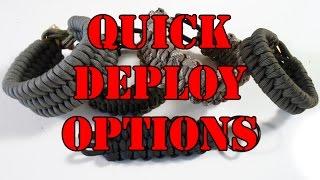 Rock Paracord - Quick Deploy Options Part 1