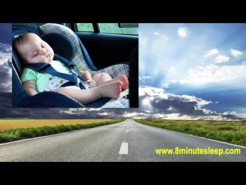 BABY SLEEP | Sleepy Baby Car Ride | Calm Colicky Infant | White Noise 10 Hours
