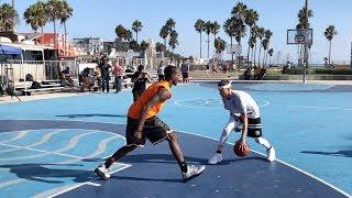 The Professor vs Pro Competition at Venice Beach.. DESTROYS 6