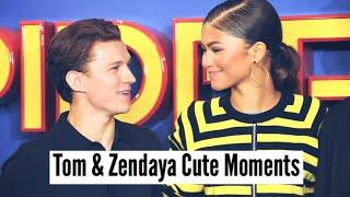 Tom Holland Zendaya Cute Moments