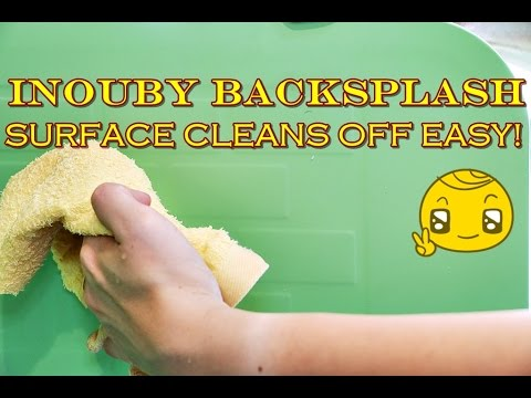 Inouby Backsplash Review - Easy Clean Stains Off The Surface (It Works!)